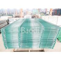 Buy cheap Garden Wire Mesh Fence Decorative Curved Green Welded Wire Fencing from wholesalers