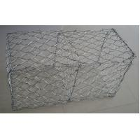 Buy cheap 60×80 Mm Hot Dipped Galvanized Gabion Baskets / Box For Retaining Wall from wholesalers