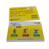 Buy cheap Classic 1k  RFID Smart Card For Access Control 13.56 Mhz Rfid Tag from wholesalers