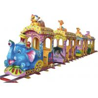 Buy cheap KAIQI Amusement Park Train , Molded Surface Train Rides For Kids Customized Dimension from wholesalers