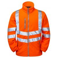 Buy cheap High-Visibility Clothing Safety Fleece Jacket from wholesalers
