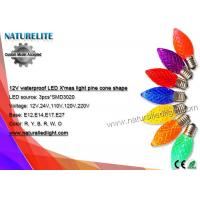 Buy cheap 120V Christmas Decoration Lights 5 SMD 3528 Christmas Led Bulb from wholesalers