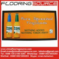 Buy cheap Full colour promotional printed bar runners with nitrile rubber non-slip backing knitted polyester top from wholesalers