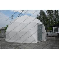 Buy cheap Half Sphere Geodesic Dome Tenttent Double Coated Pvc Roof Cover For Exhibition from wholesalers