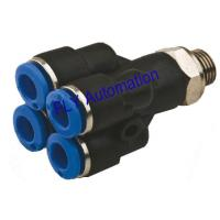 Buy cheap PRX Pisco Different Dia. Double Y One Touch Plastic Tube Fitting from wholesalers