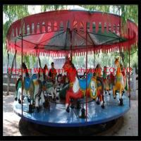Buy cheap deluxe mechanical carousel horse ride fair rides for sale with professional design from wholesalers