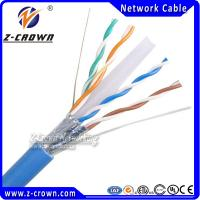 Buy cheap PVC/ ROHS/ LSZH Jacket Category 6 Lan Wire Passed Fluke Test product
