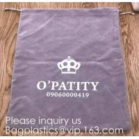 Buy cheap Drawstring Cloth Jewelry Pouches Gift Candy Bags Wedding Headphones Bag,Drawstring Bucket Bag Coin Purses Key Bags Cash from wholesalers