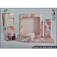 Buy cheap Colorful Luxury Packaging Boxes , Small Cosmetic Boxes For Perfume Display Window product