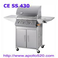 Buy cheap High Quality BBQ Grill 3burners  with cabinet from wholesalers