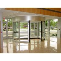 Buy cheap With Door Leaf Stop Positioning Function Induction Automatic Revolving Door with 2 wings from wholesalers