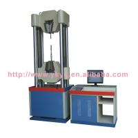 Buy cheap WAW-1000 B  Microcomputer Controlled Electro-hydraulic Servo Steel Stranded Wire Universal Testing Machine from wholesalers