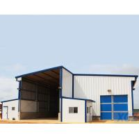 Buy cheap Prefab Modular Light Steel Structure Workshop Building with Q345B steel from wholesalers