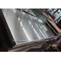Buy cheap Hairline 316 Stainless Sheet / Stainless Steel Grade 316l Customized Surface Finish from wholesalers