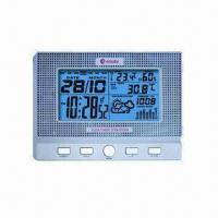 Buy cheap Wireless Pro Weather Station Clock w/ Barometer, Weather Forecast Tendency/In Temperature/Humidity from wholesalers