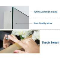 Buy cheap Energy Saving Illuminated Bathroom Mirrors , Wall Mirror With Led Lights from wholesalers