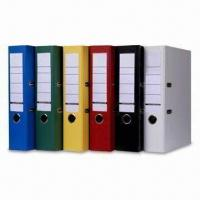 Buy cheap Lever Arch Files with PVC Cover, Inner Color Printed or Marble Papers, Suitable for Office Use from wholesalers