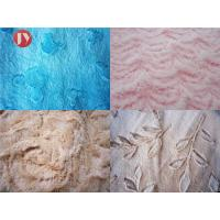 Buy cheap Brushed Embossed Plush Toy Fabric 100% Polyester PV Plush Shrink - Resistant from wholesalers