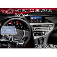 Buy cheap Android 7.1 Interface Navigation Box for 2012-2015 Lexus RX 450h Mouse Control , Google Play Store from wholesalers