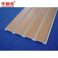 Buy cheap Colored UPVC Vinyl Slatwall Accessories Garage Slotwall Panels from wholesalers