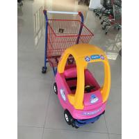 Buy cheap Metal Kids Shopping Carts , Kids Shopping Trolley Travelator Casters CE / GS / ROSH from wholesalers