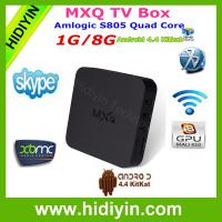 Buy cheap Android 4.4 XBMC 13.2 RC1 Hardward 3D graphics acceleration android tv box from wholesalers