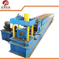 Buy cheap Upright Pillar Rack Steel Roof Roll Forming Machine For Factory Roof / Warehouse from wholesalers
