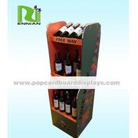 Buy cheap Wine Custom Cardboard Displays Aqueous Coating For Cosmetic / Food from wholesalers