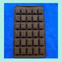 Buy cheap letter shape silicone butter molds , round shape silicone cookie molds product
