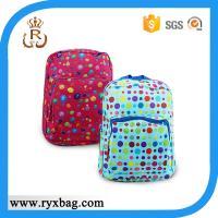 Buy cheap Kids colorful dot school bag from wholesalers