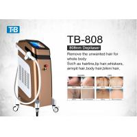 Buy cheap Vertical 808nm Diode Laser Leg Hair Removal 2 Years Warranty 12 * 12mm Spot Size from wholesalers