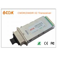 Buy cheap Single mode CWDM 10gbase X2 module 40KM 1610nm transceiver module for Network product