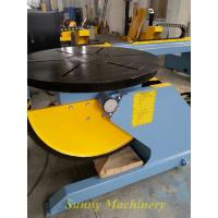 Buy cheap Custom VFD Control Weld Positioner / Welding Turntable For Pressure Vessel from wholesalers