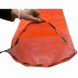 China drawstring pp tubular mesh bag for onion potato vegetable on sale