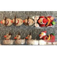 Buy cheap ATBC-PVC Christmas Bath Duck Toys Set / Reindeer Rubber Duck With 3 Baby from wholesalers