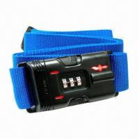 Buy cheap Combination TSA Luggage Strap Lock with 3-dial (Safe Skies Branded) from wholesalers