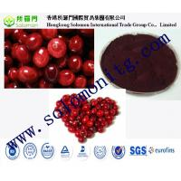 Buy cheap High Quality Cranberry fruit Extract --Vaccinium Macrocarpon L from wholesalers