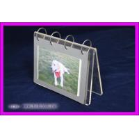 Buy cheap Transparent Acrylic Calendar Holder , Plastic Calendar Display Stand product