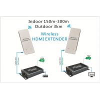 Buy cheap stable quality 1080p/60hz HSV373 HDMI WIFI extender 120m hdmi extender rj45 Wireless HD Transmitter&ReceHome Threater from wholesalers