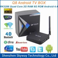 Buy cheap Q8 RK3288 A17 2.4G+5G Dual Band wifi Quad Core 2G/8G Android TV Box Media Player with Ante from wholesalers