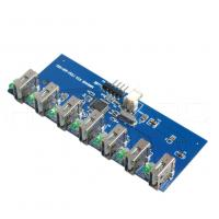 Buy cheap FR4 Rigid SMT PCB Assembly Service Components Sourcing White Silkprint from wholesalers