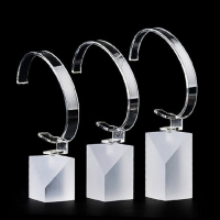 Buy cheap Wristwatch Jewelry Round 3Tier Watch Display Stand from wholesalers