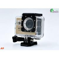 Buy cheap A9 Waterproof Motorcycle Cycling Video Camera Sj4000 Mini Pro TF Card Max 32G from wholesalers
