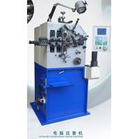 Buy cheap Blue Painting Compression Spring Machine / Spring Coiling Machinery from wholesalers