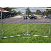 Buy cheap Galvanized Portable Australian Temporary Fencing , Chain Link Fence Panels from wholesalers