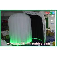 Buy cheap Black Inside White Inflatable Photo Booth Oxford Cloth For Wedding Party from wholesalers