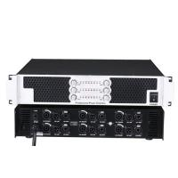 Buy cheap KM-6600 six channel power amplifier digital amp PA audio system amplifier Pro-audio amplifier  metal 8.8kg from wholesalers