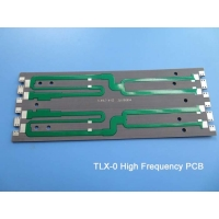 Buy cheap Taconic TLX-0 62mil 1.575mm RF Antenna PCB TLT-0 High Frequency PCB with green solder mask for Antennas from wholesalers