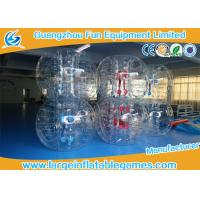 Buy cheap Gaint Inflatable Bubble Ball Bumper Soccer Football With 0.7mm TPU Material from wholesalers