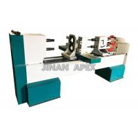 Buy cheap Double Rotary Cbenchtop Wood Lathe , Four Blades Wood Turning Lathe Machine from wholesalers